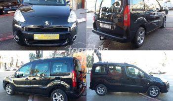 Peugeot Partner Tepee Occasion 2012 Diesel 149000Km Tanger #58256 full