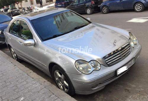 Voiture Mercedes benz Classe c 2002 à tanger  Diesel  - 9 chevaux