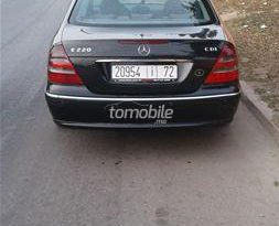 Mercedes-Benz Classe E Occasion 2003 Diesel 167000Km Agadir #84602 plein