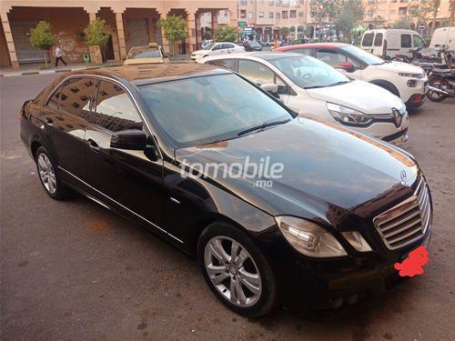 Voiture Mercedes benz Classe e 2009 à marrakech  Diesel  - 9 chevaux