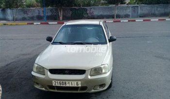 Hyundai Accent Occasion 2001 Essence 00000Km Casablanca #85784 plein