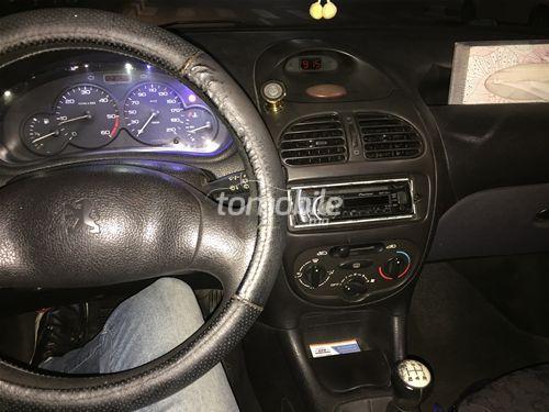 Peugeot 206 Occasion 2001 Essence 220000Km Casablanca #86466 plein