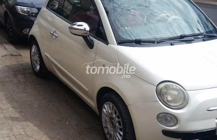 Fiat 500  2009 Essence 92000Km Mohammedia #88193