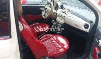 Fiat 500  2009 Essence 92000Km Mohammedia #88193 plein