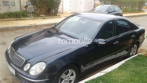 Voiture Mercedes benz Classe e 2002 à rabat  Diesel  - 9 chevaux