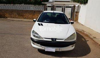 Peugeot 206 Occasion 2000 Essence 95000Km Rabat #87599 plein