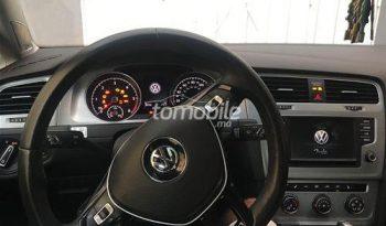 Volkswagen Golf Occasion 2017 Diesel 36000Km Casablanca #88094 plein