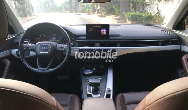 Audi A4  2017 Diesel 39500Km Casablanca #88592 plein