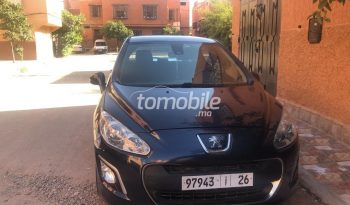 Peugeot 308  2012 Diesel 113000Km Marrakech #88684 plein