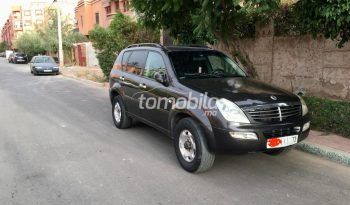 Ssangyong REXTON  2004 Diesel 45000Km Marrakech #93338 plein