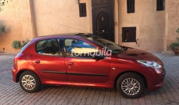 Peugeot 206  2012 Diesel 634000Km Marrakech #94740 plein